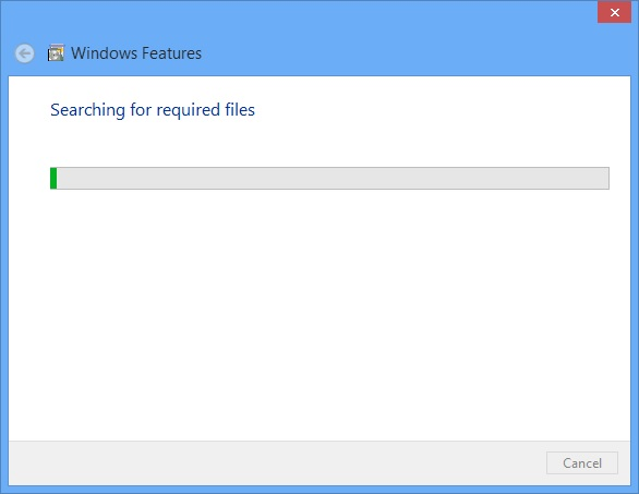 Windows Installing Required Files