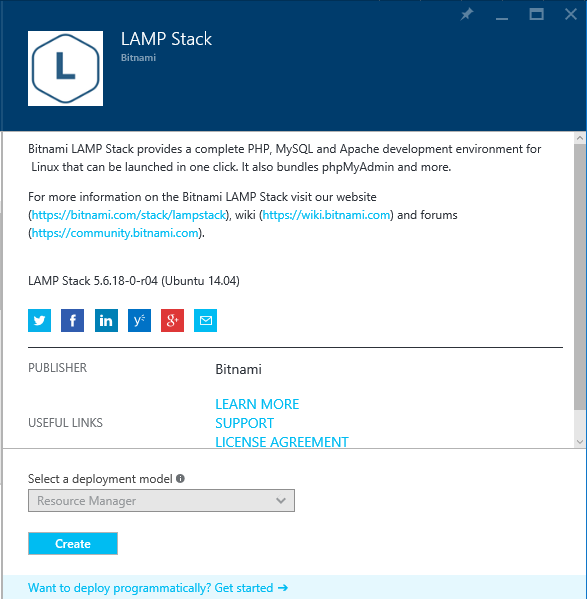 Create LAMP Stack Virtual Machine